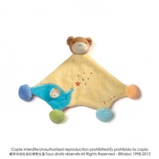 Doudou ours pompons KALOO Bliss