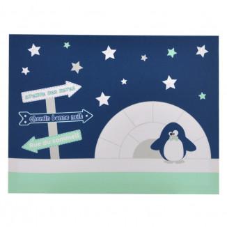 Toile lumineuse scintillante DOMIVA Pingou