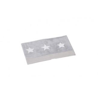 Parure de lit gris étoile PERICLES Billy&Rafy