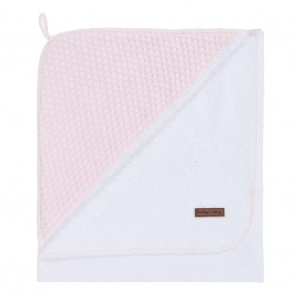 Cape de bain Xl BABY'S ONLY Rose clair