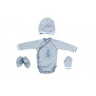 Set de maternité Stripes Blue PERICLES Blues