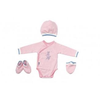 Set de maternité Stripes Pink PERICLES Blues