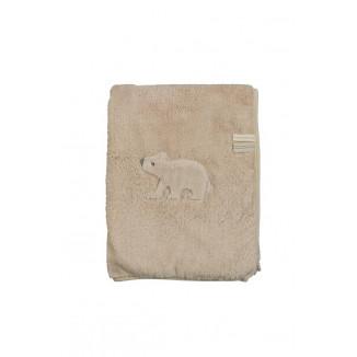 Couverture de lit Teddy 100x150 PERICLES Umi