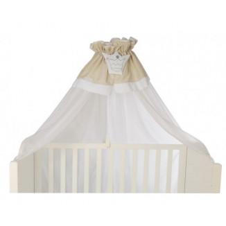 Voile de lit NOUGATINE Prince Beige