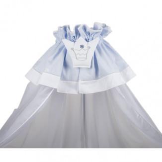 Voile de lit NOUGATINE Prince Bleu