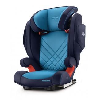 Siège auto Gr23 Monza Nova 2 Seatfix RECARO Xenon Blue