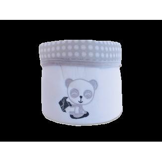 Corbeille LES CHATOUNETS Panda