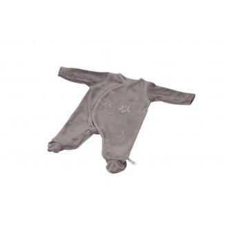 Pyjama 0-3M gris foncé étoiles PERICLES Billy&Rafy