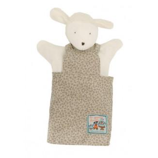Marionnette Albert le mouton MOULIN ROTY La grande famille