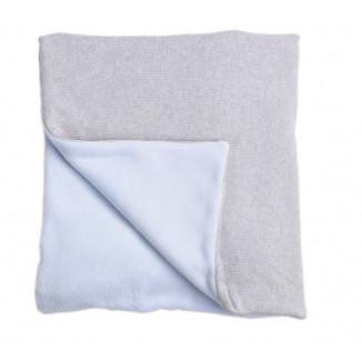 Couverture Bleue 90x120 NOUGATINE Perle de Riz