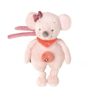 Mini-peluche musicale souris NATTOU Adèle & Valentine