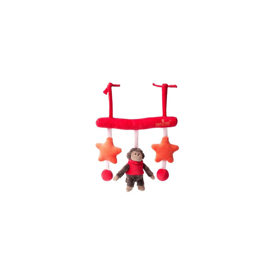 Activity peluche PERICLES Boboo rouge