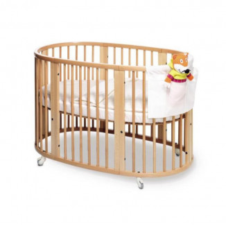 Lit 120 Sleepi STOKKE Naturel