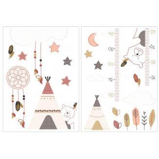 Stickers muraux SAUTHON Timouki
