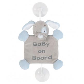 Peluche baby on board Sam le mouton NATTOU Sam & Toby