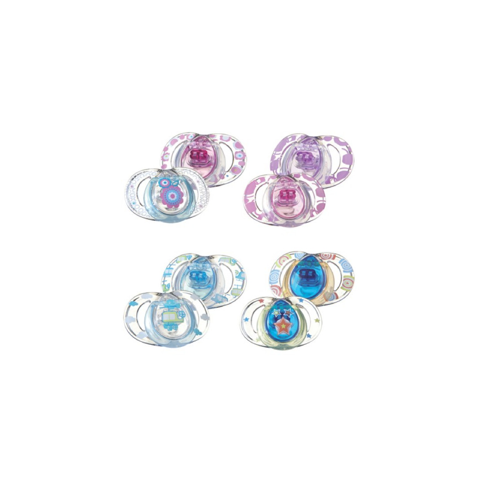 SUCETTES STYLE 3/9M X2 TOMMEE TIPPEE