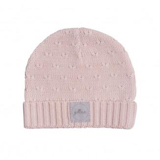 Bonnet Soft Knit 2/9mois JOLLEIN Creamy Peach