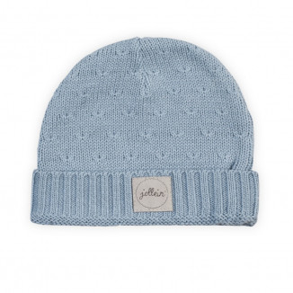 Bonnet Soft Knit 2/9mois JOLLEIN Soft Blue