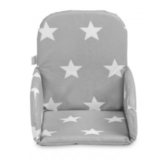 Coussin de chaise Haute JOLLEIN Little Star Anthracite