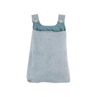 Sac de rangement Confetti Knit JOLLEIN Stone Green
