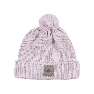 Bonnet 2/9mois Confetti Knit JOLLEIN vintage Pink