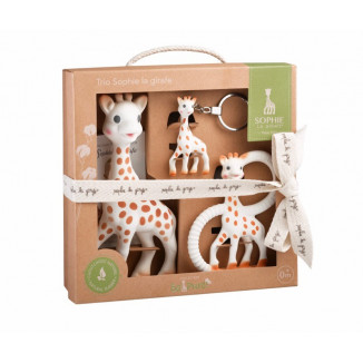 Trio So'Pure Sophie la girafe VULLI