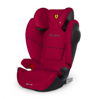 Siège auto Gr2/3 Solution M-fix Sl CYBEX FOR SCUDERIA FERRARI Racing Red