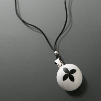 Bola flower fleur en onyx / bo bola de grossesse cache coeur CACHE COEUR