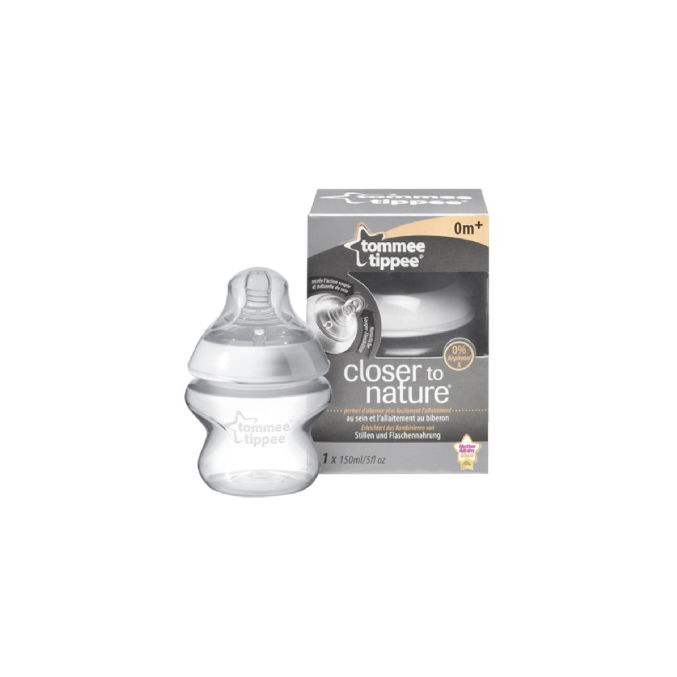 BIBERON TOMME TIPPEE CLOTHER TO NATURE 150ML SANS BPA