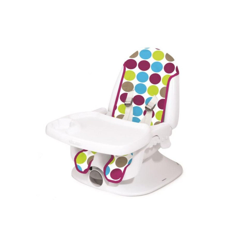 r hausseur de chaise inclinable multicolore tomy babydrive. Black Bedroom Furniture Sets. Home Design Ideas