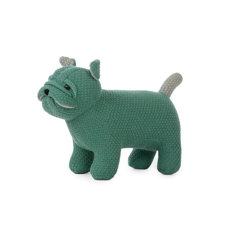 Chien en tricot Small PÉRICLÈS Vert