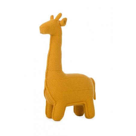Girafe en tricot Small PÉRICLÈS Jaune