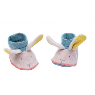 Chaussons Lapin MOULIN ROTY Mademoiselle et Ribambelle
