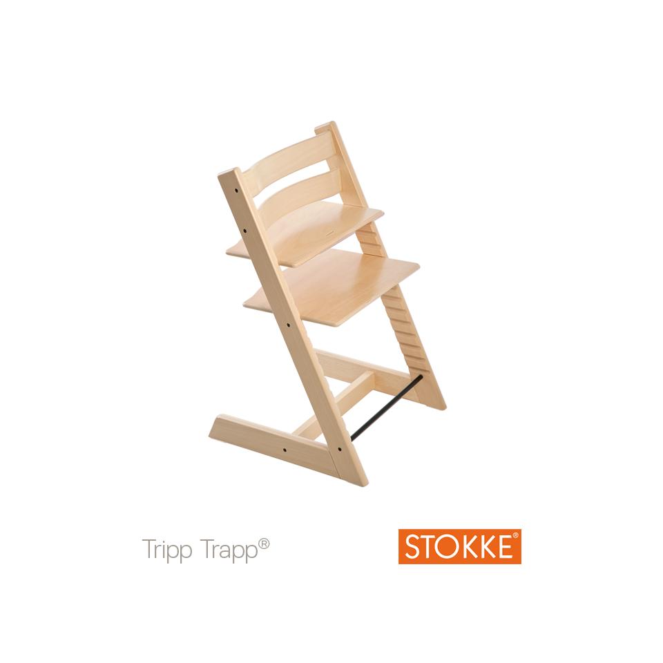 Chaise-haute Tripp Trapp® STOKKE® Naturel