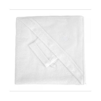 Sortie de bain + gants RED CASTLE Blanc