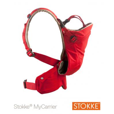 Porte bébé My Carrier Rouge STOKKE