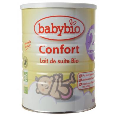 Lait en poudre BABYBIO 2 confort 900g 6mois