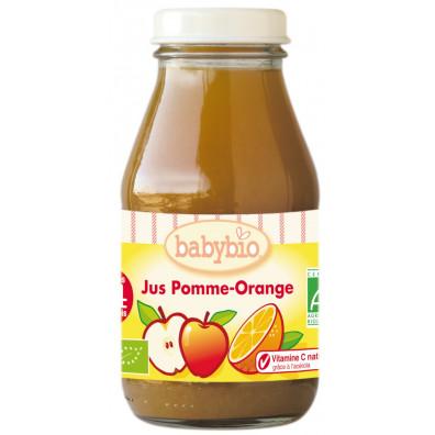 Jus BABYBIO Pomme Orange 20Cl +3mois