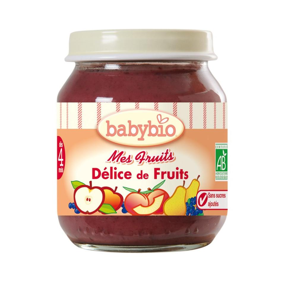 Petit Pot BABYBIO Délice de fruits 130g +3mois