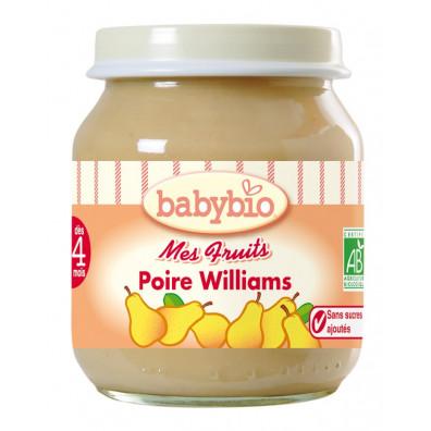 Petit Pot BABYBIO Poire 130g +3mois