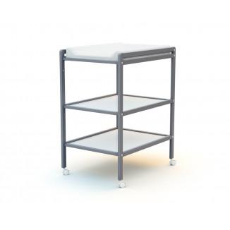Table à langer 2 étagères AT4 Gris