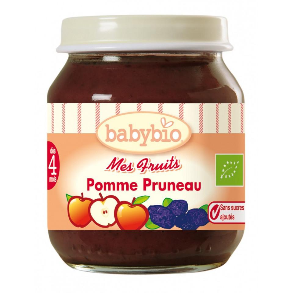 Petit Pot BABYBIO Pomme Pruneau 130g +3mois