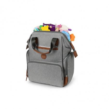 Sac à langer Backpack OUTLANDER Gris Clair