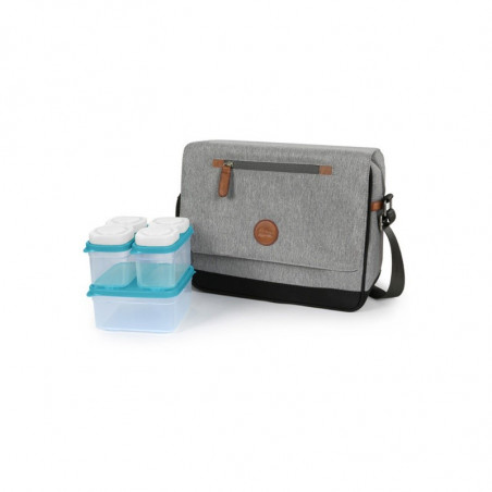 Sac isotherme Baby Snack OUTLANDER Gris clair