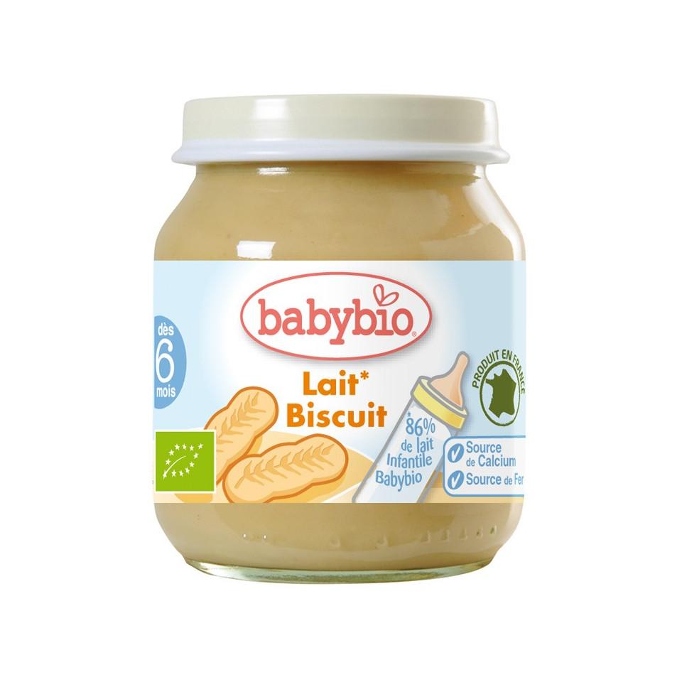Petit Pot BABYBIO Crème Biscuit 130g +5mois