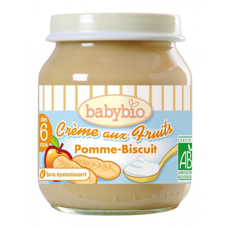 Petit Pot BABYBIO Pomme Biscuit 130g +5mois