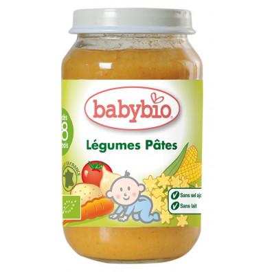 Petit Pot BABYBIO Légumes pâtes 200g +7mois
