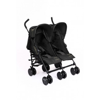 Kikoe twin canne jumell inclinable black LIBELLULE