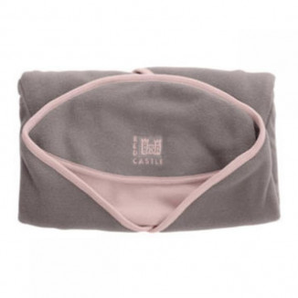 Babynomade Polaire T1 RED CASTLE Taupe/Rose