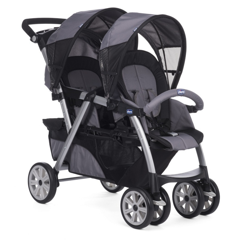 d4a4b784c032c3 Poussette double Together CHICCO Coal - Drive Made4baby Balaruc